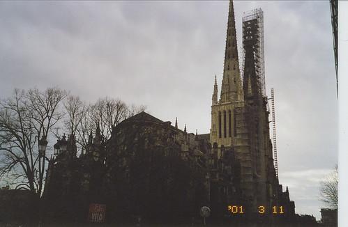 2001-03-11 Bordeaux France (la Cathedrale Saint Sernin)
