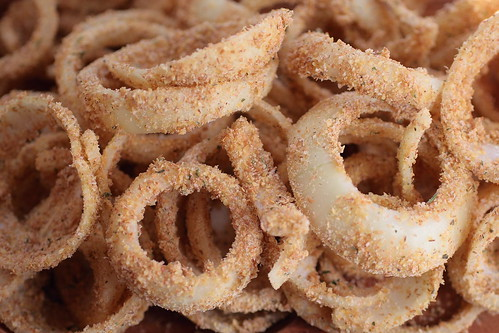 Uncooked Onion Rings