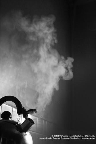 Steaming kettle - IMG_1779-Edit.jpg by Dhammika Heenpella / Images of Sri Lanka, on Flickr
