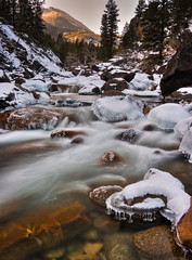 (Michael Speed) Tags: motion ice water river montana pentax stillwater hdr lameo michaelspeed