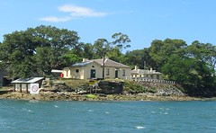 Goat island, Historic Cottages, Sydney Harbour.