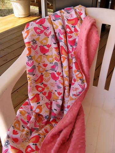 Pink Baby Girl blanket