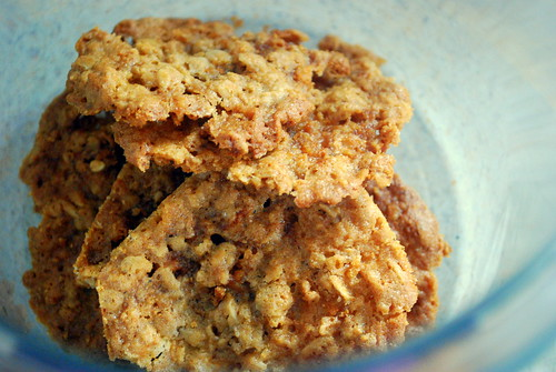 Peanut Butter and Honey Cookies