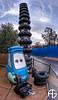 Guidoooooo (A.G. Photographe) Tags: cars studio french high nikon dynamic disney fisheye company disneyworld pixar lightning nikkor walt range eurodisney guido français hdr rendering mcqueen anto pneus xiii hdr7raw france16mm