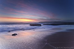 Four Mile Beach - Santa Cruz, California, USA (Rich Capture) Tags: sunset santacruz seascape water canon landscape eos sand rocks surf tripod filter richard lee davenport gitzo 4milebeach graduated density neutral wetfeet fourmilebeach arcaswiss graduatedneutraldensityfilter 2531 ef1635mmf28lii 5dmark2 richardmatyskiewicz matyskiewicz b1ballhead