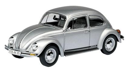 Schuco VW SIlver Bug