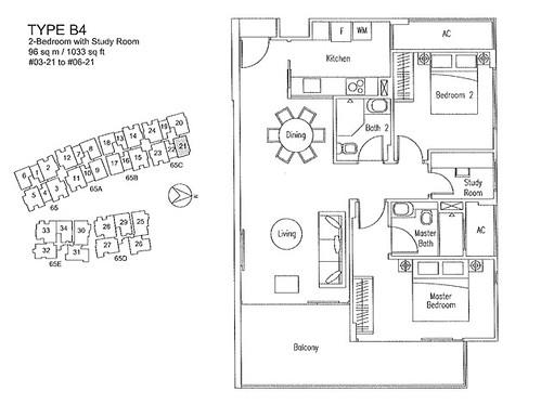 2-Bedroom FP