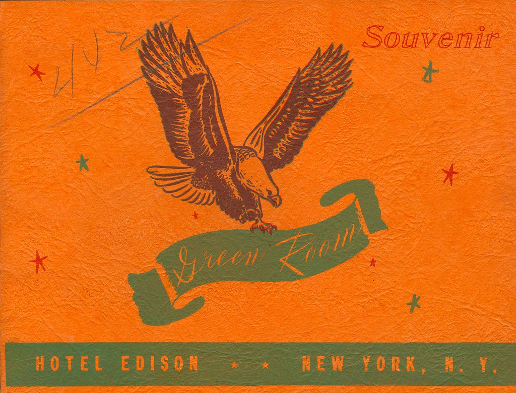 Cover of Souvenir Photo in Hotel Edison