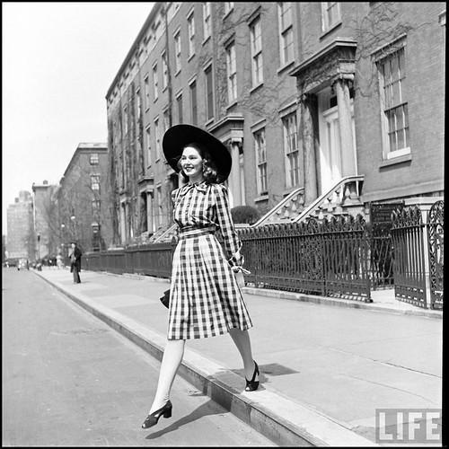 Vintage fashion photo inspiration from the Life magazine