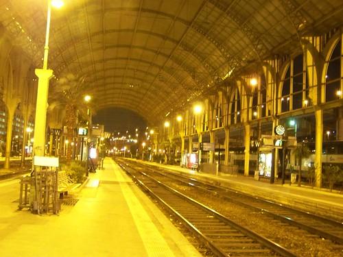 Nice station - empty