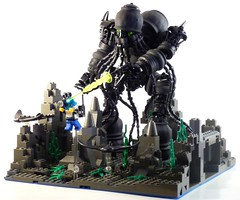 The Call of Cthulhu (((Primus))) Tags: lego technic cthulhu bionicle undersea primus thecall ktulu notatlantis