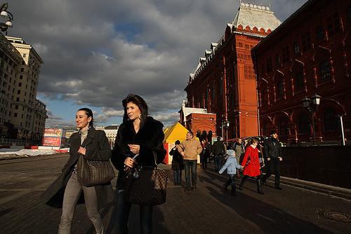 Москва 3 марта 2010 г. / Moscow March 3, 2010