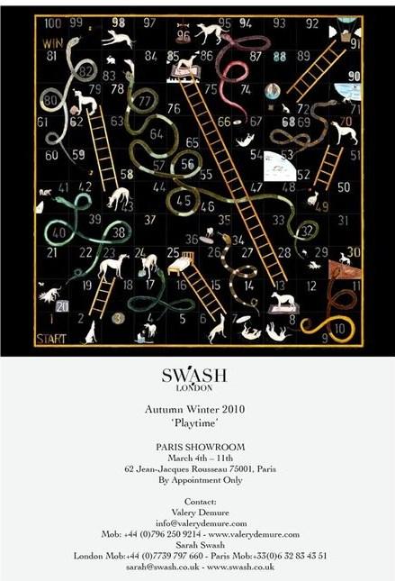 SWASH Fall/10 showroom in Paris