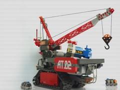 """Mammoth"" HMU Video (Pierre E Fieschi) Tags: electric giant power lego crane maintenance motor functions heavy tread unit microspace fieschi microscale microspacetopia pierree"