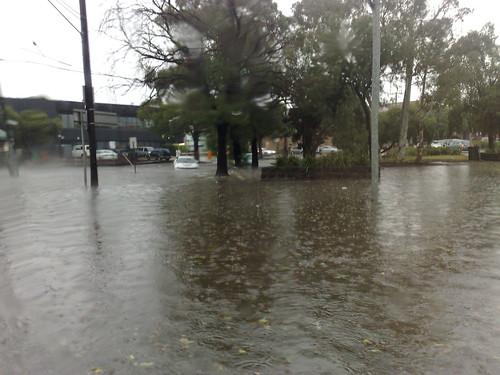 Kingsway flooded