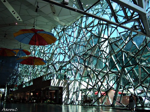 Interior of Federation Square