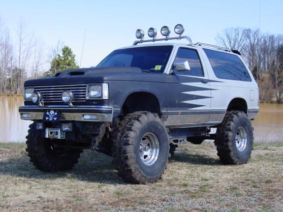 chevrolet 1989 blazer s10