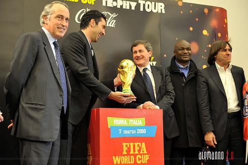 La Coppa del Mondo di Calcio FIFA in Campidoglio