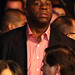 Hall of fame NBA player Earvin 'Magic' Johnson attends the Manny Pacquiao and Miguel Cotto WBO welterweight title fight at the MGM Grand Garden Arena on November 14, 2009 in Las Vegas, Nevada.  (Photo: Getty Images)