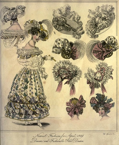 005-The World of fashion and continental feuilletons 1829