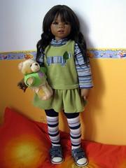 Sidika Himstedt (Tartadefresa) Tags: 2005 india doll artist kinder puppen muñeca sidika annettehimstedt
