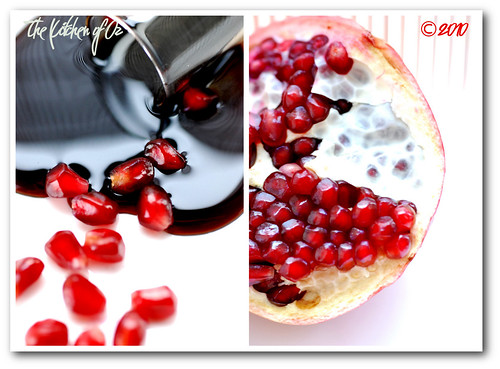 Pomegranate Arils  & Pomegranate Syrup