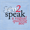 sew2speak badge with larger type