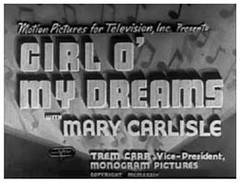 Girl O' My Dreams (1934)