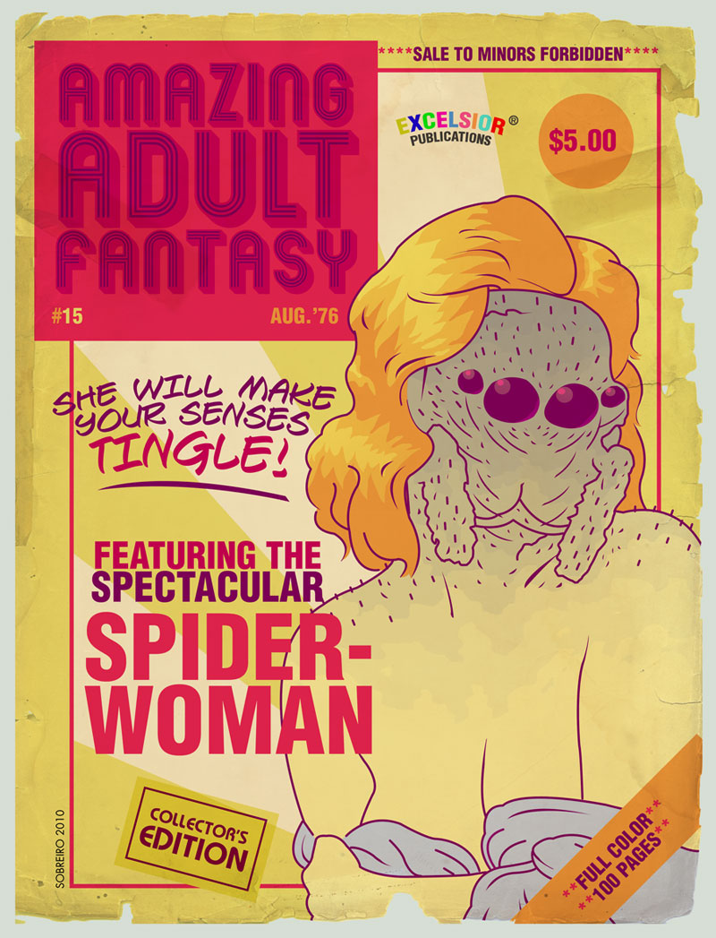 AMAZING ADULT FANTASY 15 by Felipe Sobreiro