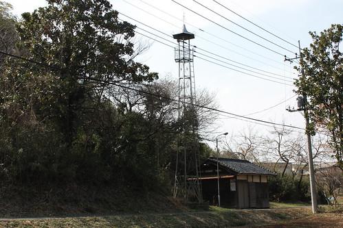 吉田の火の見櫓(嵐山町)