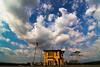 top of the castle (Lohb) Tags: tourism canon cloudy wideangle bluesky tokina malaysia suburb ipoh sunnyday perak 500d ultrawideangle batugajah kellyscastle 1116mm topofthecastle