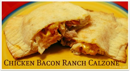 Chicken Bacon Ranch Calzones