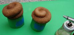 Airbrushing a Cupcake 6