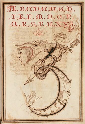008-Opera dianto nella quale vedrete molte caratteri di lettere - Antonio Schiratti – 1600-1615