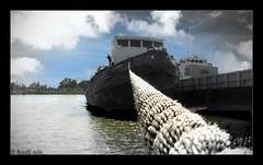 قایق رویا  Dream boat (Hadi Nikkhah) Tags: beach canon boat ship ساحل خوزستان کشتی قایق رودخانه کانن لنگر iranmap کارون iranmapcom sx120is