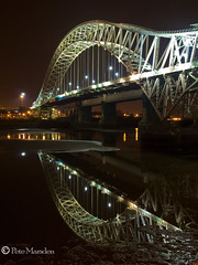 Jubilee Bridge (Pete Marsden) Tags: uk longexposure bridge cheshire jubilee runcorn widnes