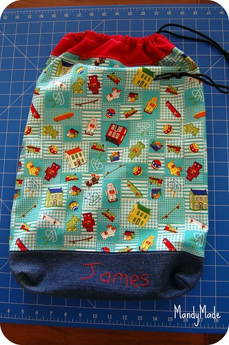Library Bag for James