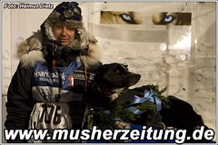 Finnmarkslopet Champions 2010: Ralph Johannessen, Musher & Millie, Lead Dog