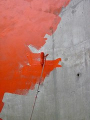 Painting in red (Let's Colour) Tags: red orange paris france color colour london painting rouge paint lets couleurs painted peinture painter colourful 93 painters transform banlieue peintres jeunes aulnay dulux akzonobel eurorscg valentine euro azkonobel letscolor letscolour dulux rscg
