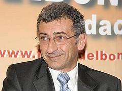 Flavio Delbono nel corso della sua breve esperienza come sindaco di Bologna