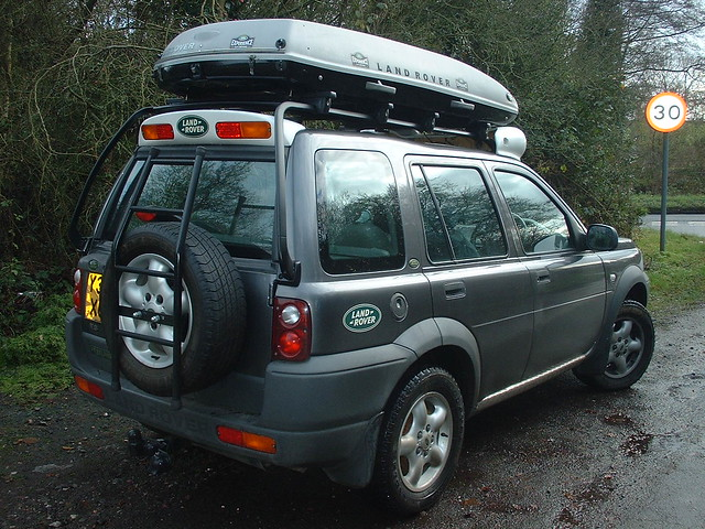 This is my Freelander Td4 with some mods. & Anybody on here with a Freelander? - Expedition Portal