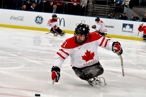 Bronze Medal Sledge Hockey: Canada vs Norway