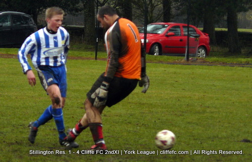 Cliffe FC 2ndXI vs. Stillington Reserves 20Mar10