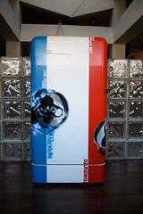 Vitry Jam 4 | Vitry sur Seine | Noodles sur Seine (orticanoodles) Tags: paris france vintage fridge popart noodles pimp custom 2010 pochoir vitry groupshow stencilhistoryx