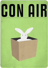 con air (madfishes) Tags: poster redesign conair niccage putbunnybackinthebox