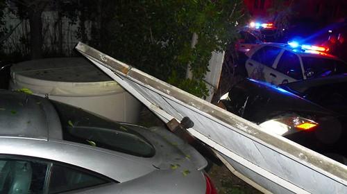 Police Car Chase in Venice Beach