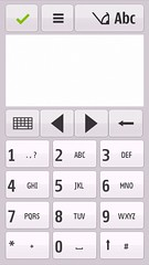 Onscreen keybpad potrait