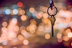 HBW: Unlock the Bokeh! (Josh Liba) Tags: city cute photoshop lights nikon key dof bokeh circles smooth chain adobe tamron f28 silky luminance noisereduction d90 hbw 1750mm happybokehwednesday joshliba lightroom3beta2