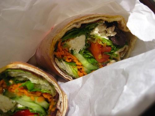 Sakeena's wrap