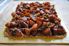 apple, date and frangipane tart (breannev) Tags: frangipane apples dates puffpastry pastrytavern